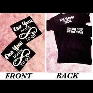 Custom His and Hers Couple shirts